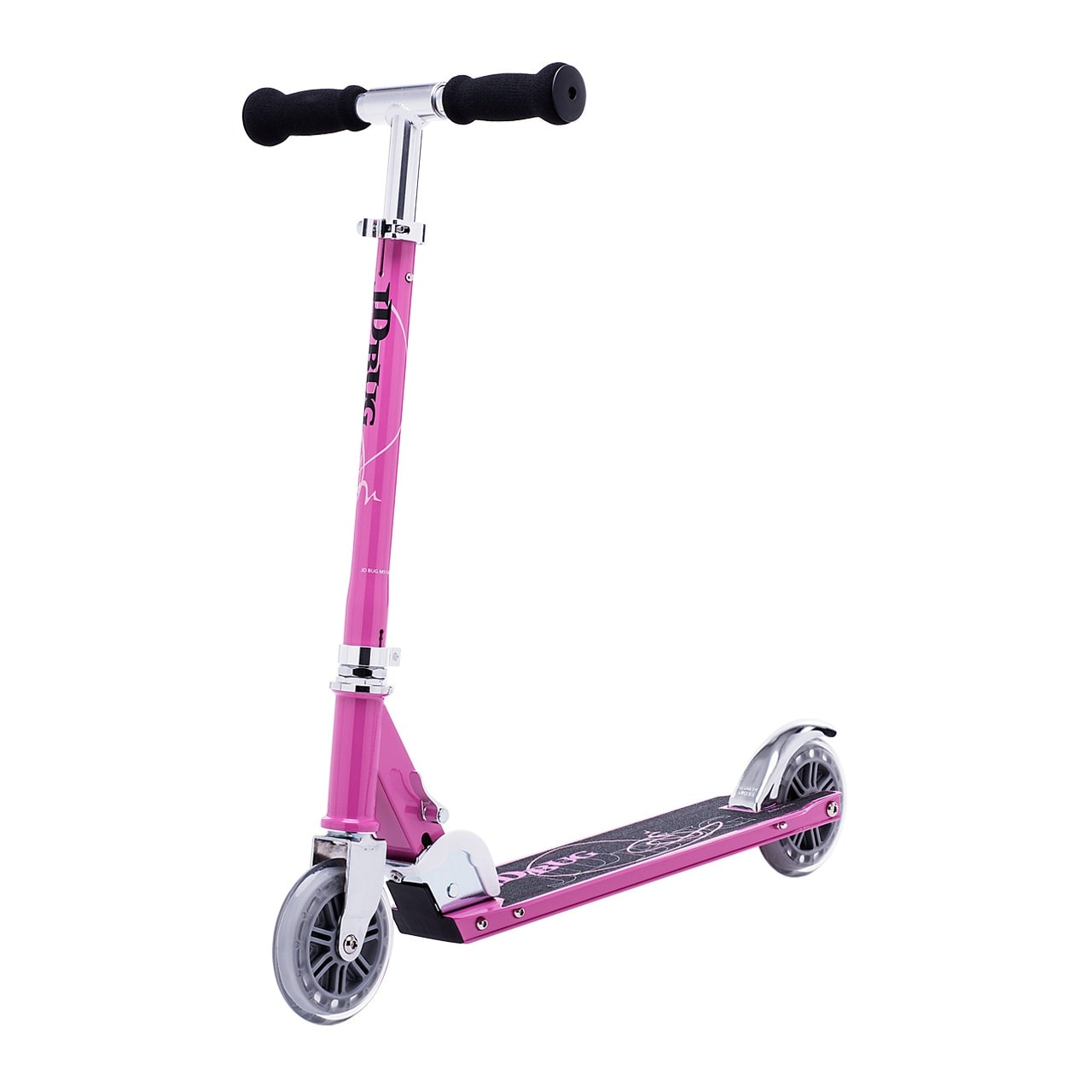 JD Bug Classic Street 120 Folding Scooter  Pastel Pink