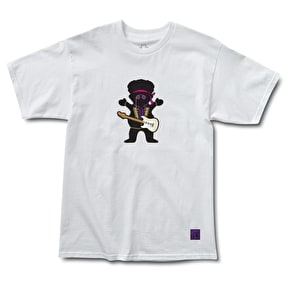Grizzly Jimi Bear T-Shirt - White