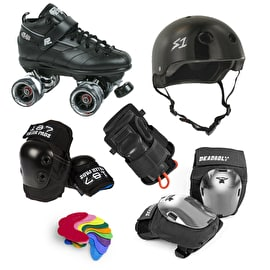 Roller Derby Pro Bundle - Suregrip GT-50 Deadbolt Knee
