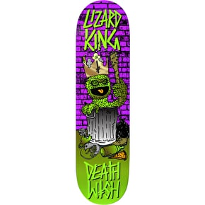 Deathwish Death Toons Reissue Skateboard Deck - Lizard King 8.0
