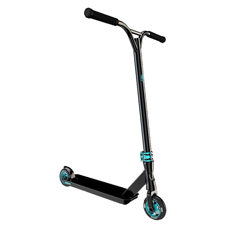 Lucky Prospect Pro Complete Scooter - Black/Teal