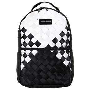 Sprayground Checkered Spider Weave Backpack