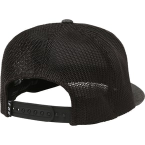 Fox Honorarium 110 Snapback Cap - Heather Black