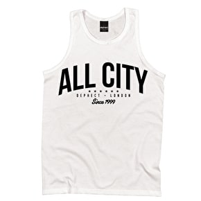 Dephect All City Tank Top - White