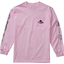 Emerica Toy Longsleeve T-Shirt - Pink