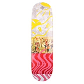 National Skateboard Co Butlins Dance Skateboard Deck - Red Stain - 8.25