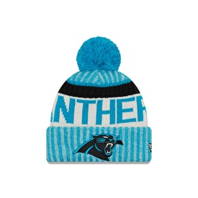 New Era NFL Sideline Beanie - Carolina Panthers