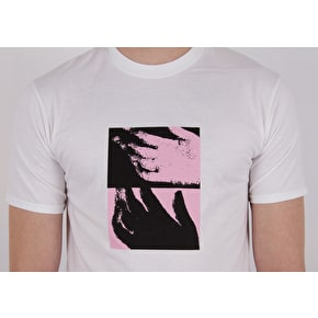 National Skateboard Co Hand T-Shirt - White