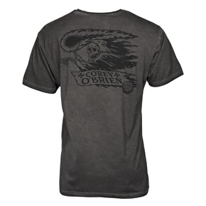 Santa Cruz Corey Reaper T-Shirt - Carbon Black