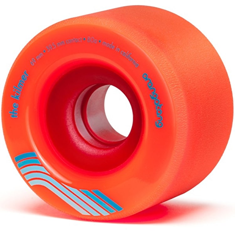 Orangatang Kilmer 69mm Longboard Wheels - Orange (Pack of 4)