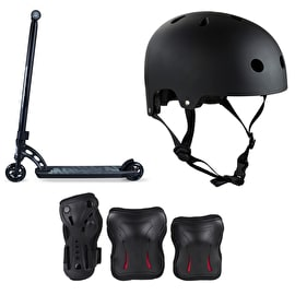 MGP VX7 Pro Black Stunt Scooter Bundle