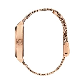 Nixon Time Teller Milanese Womens Watch - All Rose Gold