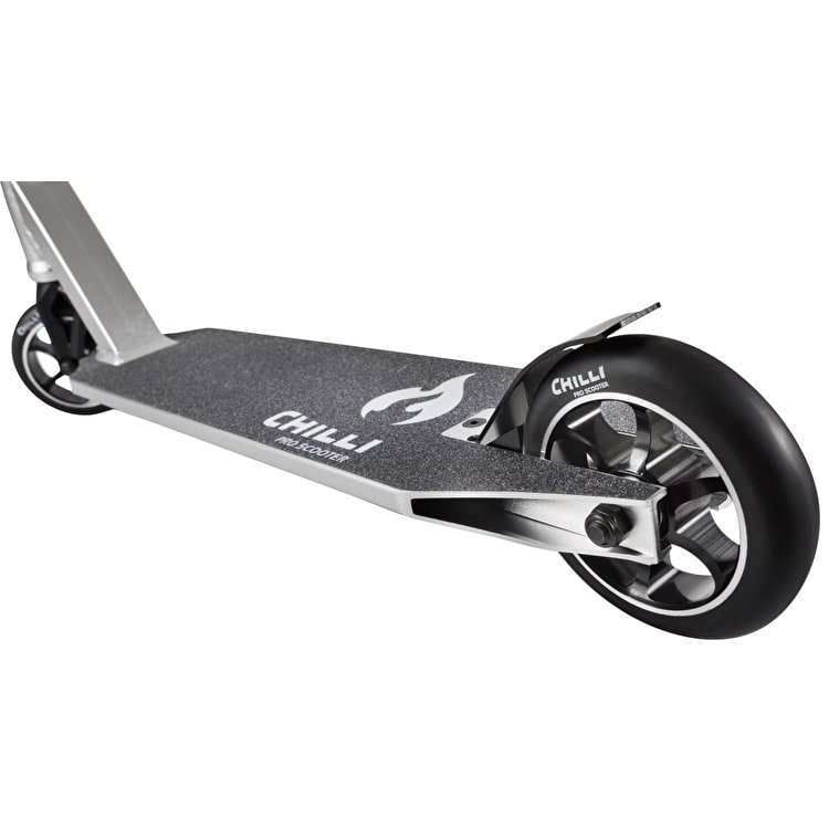 Chilli Pro 5000 Complete Scooter - Chrome/Black