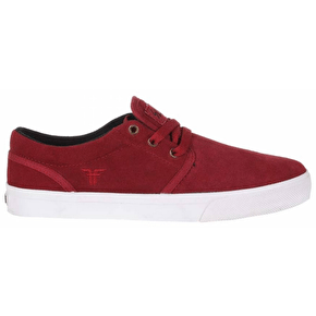 Fallen The Easy Skate Shoes - Burgundy/Copper