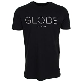 Globe Phase T-Shirt - Black/White