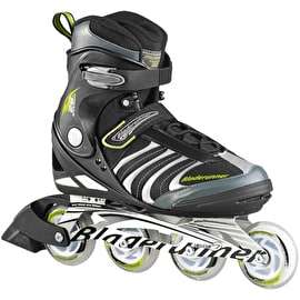 B-Stock Bladerunner Formula 82 Men's Inline Skates - Black/Green - UK 11 (Cosmetic)