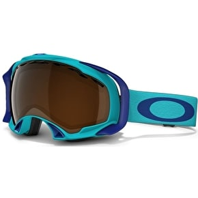 Oakley Splice Snow Goggles - Turquoise/Black Iridium