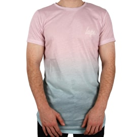 Hype Bubblegum Fade T Shirt - Pink/Blue