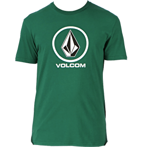 Volcom Circle Stone Basic Kids Tee - Grass Green