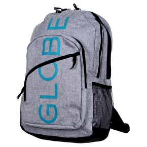 Globe Jagger Backpack - Grey/Teal
