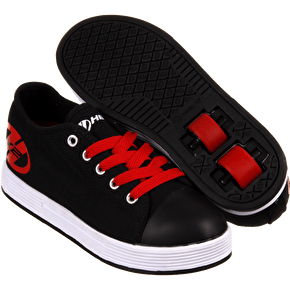 B-Stock Heelys X2 Fresh - Black/Red - Junior UK 11 (box damaged)