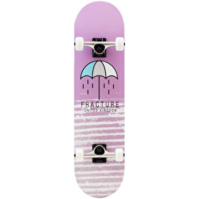 Fracture Brolly Complete Skateboard - Pink 7.75