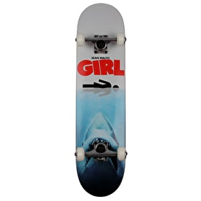 Girl Shark Attack Complete Skateboard - Malto 7.625