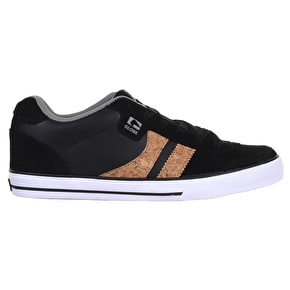 Globe Encore 2 Shoes - Black/Cork/Grey