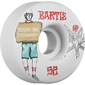 Bones STF Bartie Thank You V1 Skateboard Wheels - 52mm