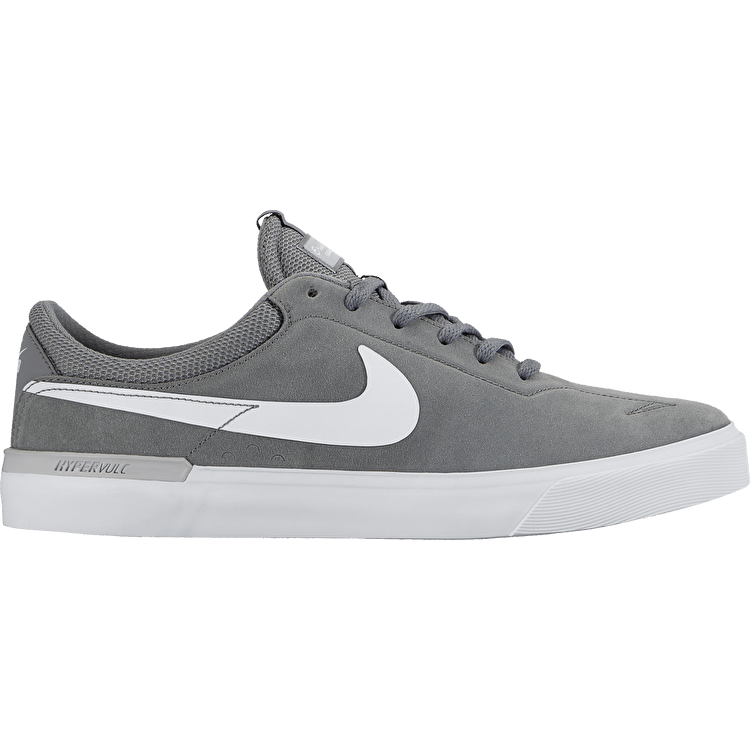 Nike SB Koston Hypervulc Shoes - Cool Grey/White