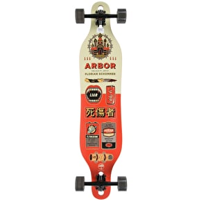 Arbor 2017 Artist Axis Drop-Through Complete Longboard - 40