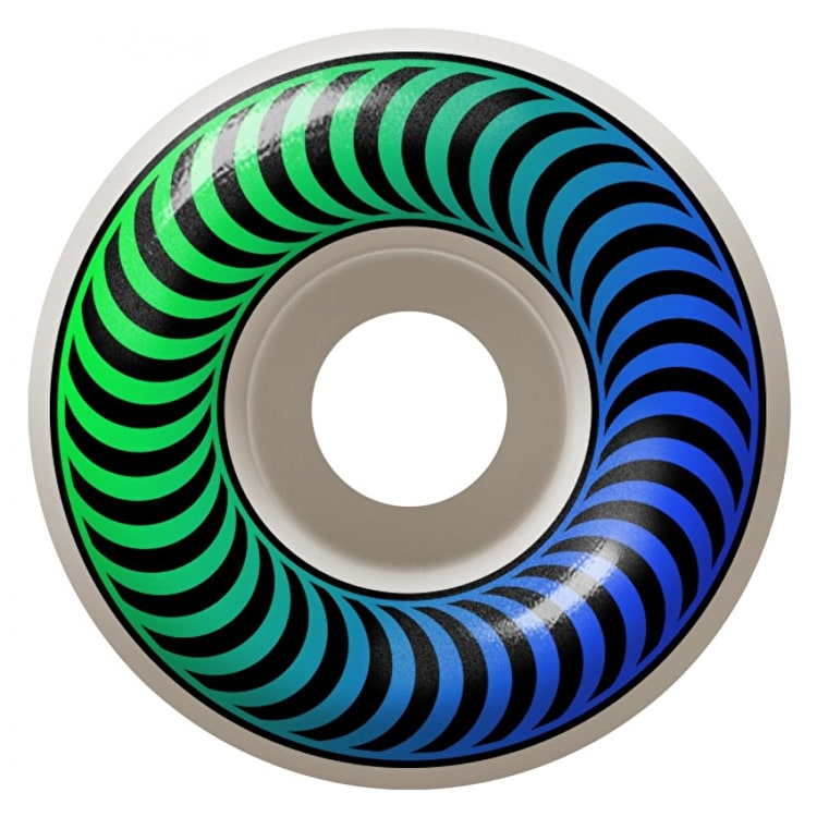 Spitfire Classic Faders 99a Skateboard Wheels - Blue/Green 52mm (Pack of 4)