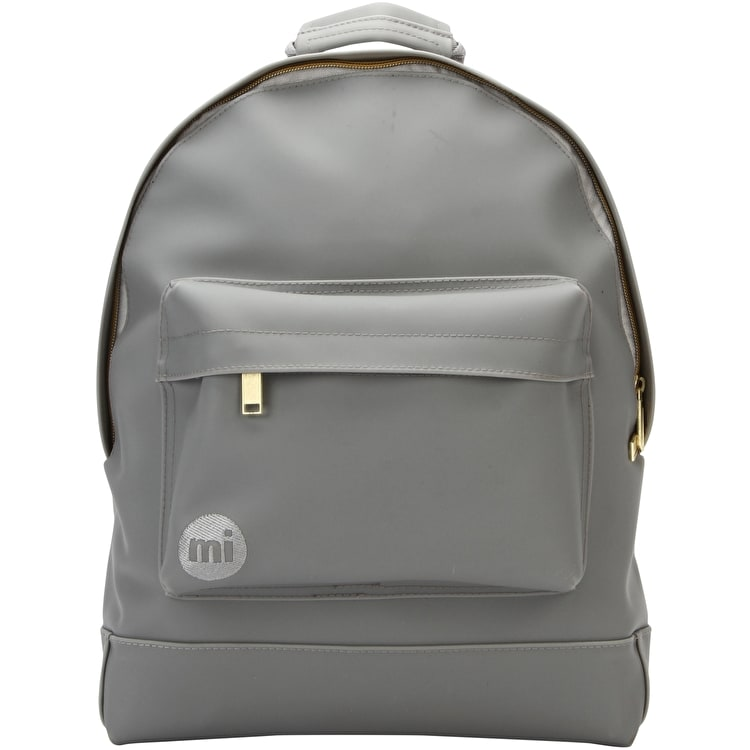 B-Stock Mi-Pac Rubber Backpack - Grey  (Discolored)