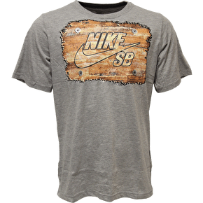 Nike SB Kids Woodwork T-Shirt - Dark Heather