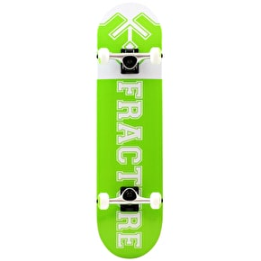 Fracture Uni Complete Skateboard - Green 7.75
