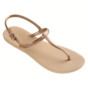 Havaianas Ladies Freedom - Sand Grey / Light Golden