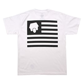 SkateHut StateHut Kids T shirt - White/Black