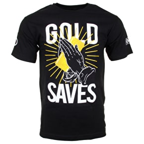 Gold Saves T-Shirt - Black