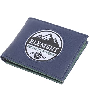 Element Wallet - Stone - Dark Denim