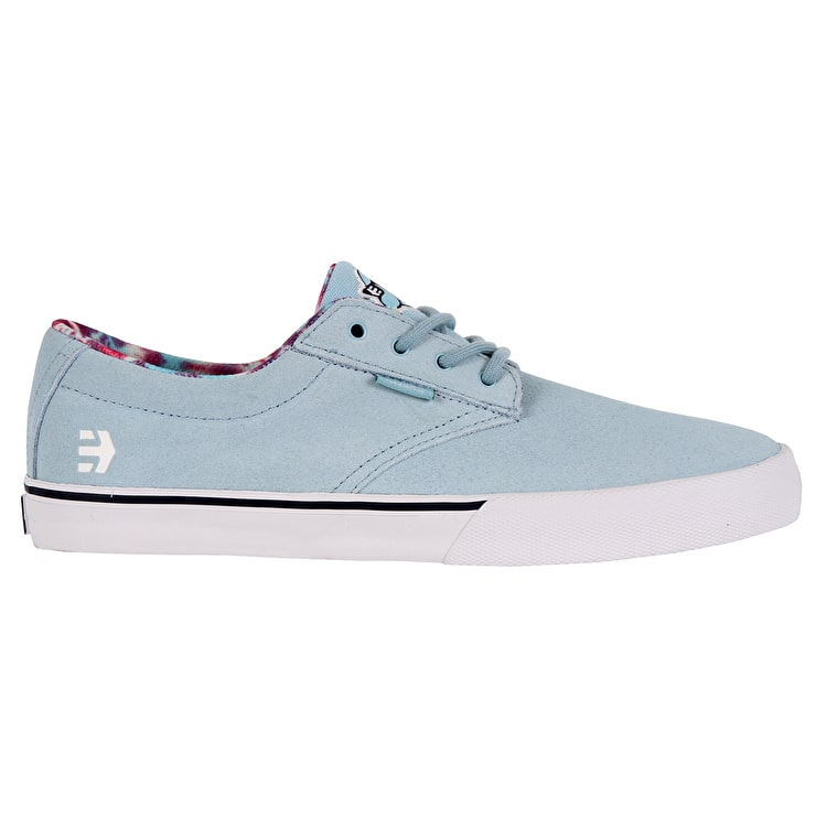 Etnies Jameson Vulc X Happy Hour Skate Shoes - Light Blue