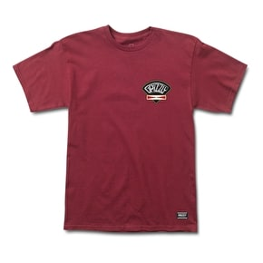 Grizzly G&C Classic T-Shirt - Burgundy