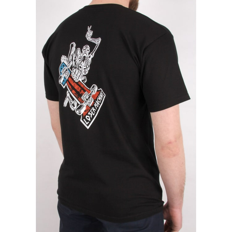 Loser Machine One Up T shirt - Black