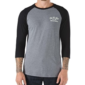 Vans Panther Raglan T-Shirt - Heather Grey/Black