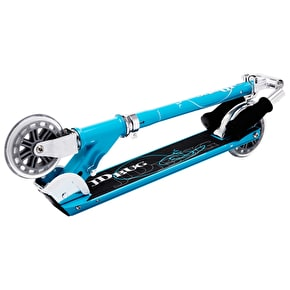 JD Bug Classic Street 120 Folding Scooter - Sky Blue