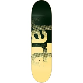 Jart Fog Skateboard Deck - Green/Yellow 8.25