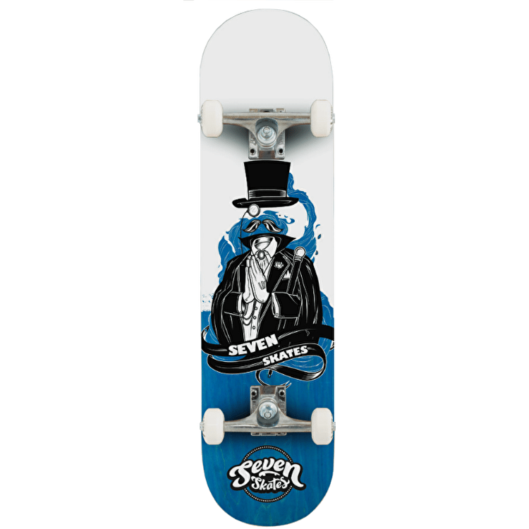 Seven Invisible Man Complete Skateboard - 7.8""