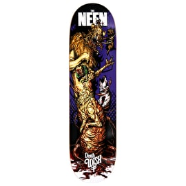 Deathwish Nightmare In Emerald Skateboard Deck - Neen  8.38