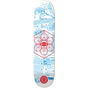 Karma MK Ultra Skateboard Deck - White - 8.125