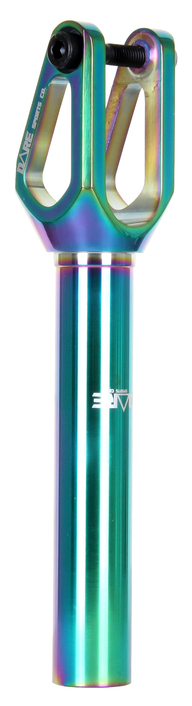 Image of Dare Dimension Scooter Forks - Neochrome 120mm
