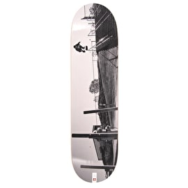 Element x French Fred Attraper Au Vol Appleyard Featherlight Skateboard Deck - 8.25